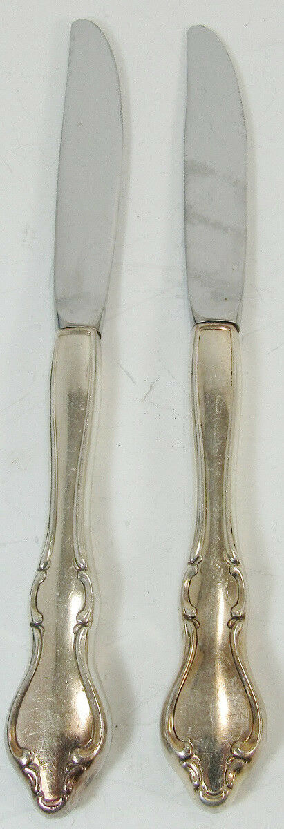 Pair Of Coventry Butter Knives International Silverplate -L3 - $5.99