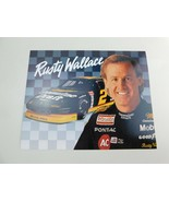 RUSTY WALLACE  1993 Framable 8 X 10 STAT Sheet - $9.79