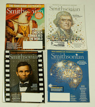 SMITHSONIAN MAGAZINES LOT OF 5 BACK ISSUES 4 FROM  2012 & A NEW 2014 - $5.04