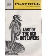 """Eugene O'Neil Theatre Playbill """"THE LAST OF THE RED HOT LOVERS"""" Dec. 1970 - $3.00"""