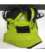 Ergo Baby Performance Carrier Spring Bright Green Hiking Walking Backpac... - $49.98