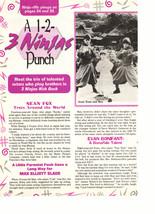 Max Elliott Slade teen magazine pinup clipping 3 ninjas punch out Big Bopper