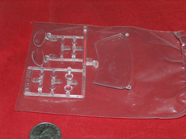 2004 revell kit 2534 shelby series 1/25 1 2 oem spare competence glass p... - $12.07