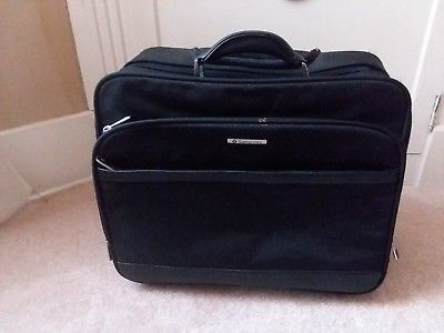 Primary image for Samsonite Black Mobil Office Rolling Travel Laptop Case