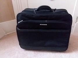 Samsonite Black Mobil Office Rolling Travel Laptop Case - $59.39