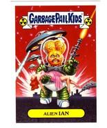 """2017 Garbage Pail Kids Adam-Geddon """"ALIEN IAN"""" 9a Classic Sticker Insert - $1.00"""