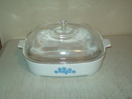 vintage Montgomery Ward electronic oven Casserole American made by Corning - $14.85