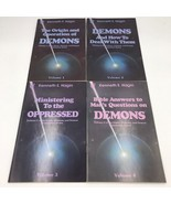 Satan Demons and Possession Series Complete Set 1 2 3 4 Books Kenneth Ha... - $99.95