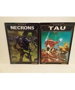 NECRONS AND TAU CODEX  BOOKS - WARHAMMER - FREE SHIPPING - $23.38