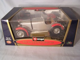 Mercedes-Benz SSKL 1931 1:18 scale diecast Burago Bburago Special Collection - $36.31