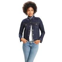 Levi's Womens Original Trucker Jacket Blue Dark Denim Blue Size Medium NWT - $62.99