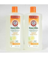 2 Ct Arm & Hammer 32 Oz Essentials Kitchen Fresh Orange Citrus Liquid Ha... - $25.99