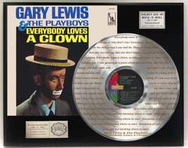 """Gary Lewis And The Playboys """"Everybody Loves A Clown"""" Laser Etched Into The Plat - $151.95"""