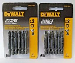 "Dewalt DW2212IR6 No. 2 Square 2"" Impact Ready Square Recess Power Bit (2... - $5.54"