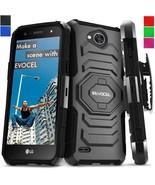 Shockproof Case Cover For LG Fiesta LTE/X Power 2/LG V7/ X Charge Clip K... - $12.50