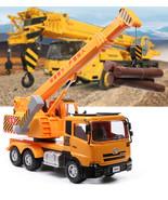 1:50 Alloy Crane Hoisting Machine Engineering Vehicles Metal Car Model Toys - £47.36 GBP