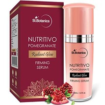 StBotanica Pomegranate Radiant Glow Firming Serum, 30ml - For Smoother, Firmer &
