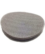 (8) NEW Sungold Abrasives Trinet Mesh 60 Grit Hook  Loop Stearated Alumi... - $27.44