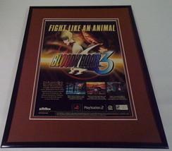 Bloody Roar 3 2001 Playstation 2 PS2 Framed 11x14 ORIGINAL Advertisement  - $22.55