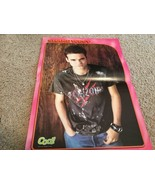 Shane West teen magazine poster clipping A walk to remember cool magazine - $4.00