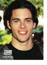 James Marsden teen magazine pinup clipping black t-shirt close up Enchanted