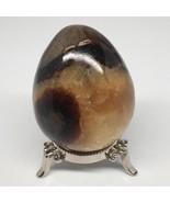 """384.5g, 3""""x2.4"""" Natural Polished Septarian Egg, gemstones @Madagascar,MS... - $23.10"""