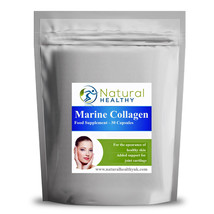 240 Pure Marine Collagen 600mg Pills - Natural And Healthy UK Diet Supplement - $24.13