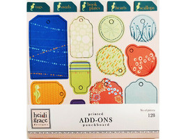 "Heidi Grace Designs Printed Punchboard Box Set ""Beyond the Sea"" #01-001788"