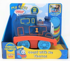 My First Thomas and Friends Youngest Engineers Count With Me thomas Todd... - $18.17