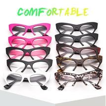 JASPEER Retro Cat Eye Glasses Frame Half Frames Female Brand Designer Eye Glasse image 6