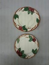 "8"" 9.5"" Franciscan Apple Dinner Plates (d230) - $28.04"