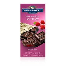 Ghirardelli Dark Chocolate Raspberry 3.5 ounce (4 Pack) - $29.99