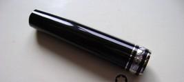 MontBlanc pen replacement parts Mont Blanc Upper Barrel  Black/Platinum - $90.47