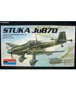 Monogram 1/48 Stuka Ju87D 'Junkers' Model Airplane Kit 6840 1983 (M79) - $15.83