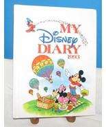 1993 MY DISNEY DIARY CHILDREN'S JOURNEL CARTOONS MICKEY DONALD - $12.38