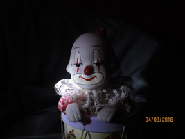 Nursery clown with windup- musical play - $25.00