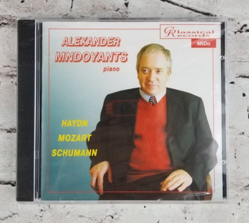 Primary image for Alexander Mndoyants (Piano) Plays Haydn, Mozart, Schumann (CD, 2004) NEW