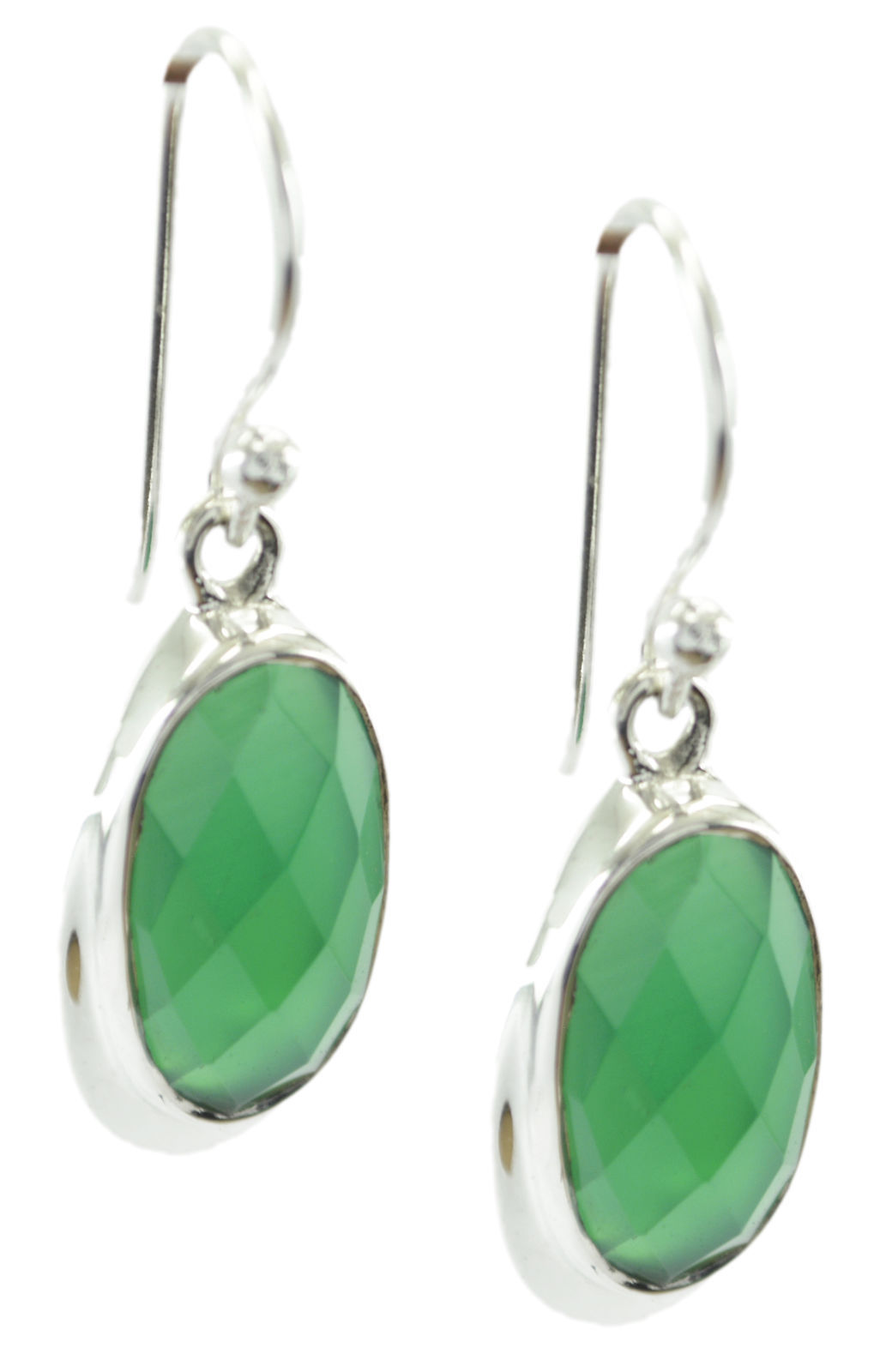 inviting Green Onyx 925 Sterling Silver Green Earring Natural wholesale US