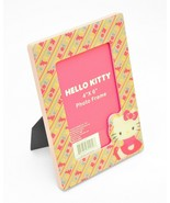 """IDEA NUOVA 5.75""""x7.875"""" HELLO KITTY PHOTO FRAME Picture HANG+STAND Glass... - $19.99"""