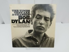 Bob Dylan Vinyl Record The Times They Are A-Changin LP Album Hollis Brown - $24.18