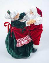 Mr. Christmas Musical Really Dancing Santa & Mrs Claus 15 Carols Songs 2002 - $40.25