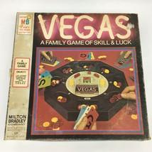 Vintage 1973 Milton Bradley Game VEGAS Game of Skill & Luck USA Made Complete - $17.99