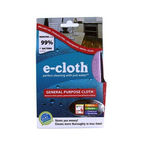 E-cloth Chemical-free Cleaning - General Purpose Cloth Tangerine
