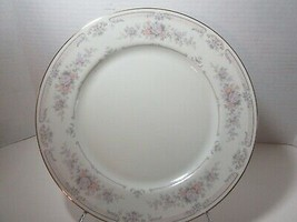 Royal Limited ANTIQUE LACE Dinner Plate Rose Pink Flowers Gold Trim  - $9.49