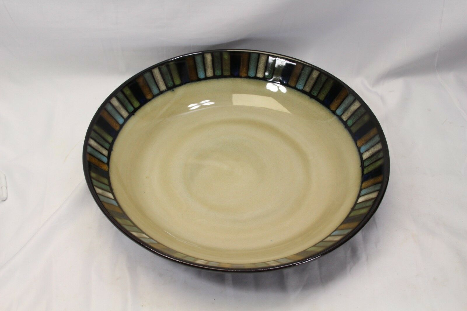Primary image for Sonoma Vallejo Blue Pasta Serving Bowl 14""
