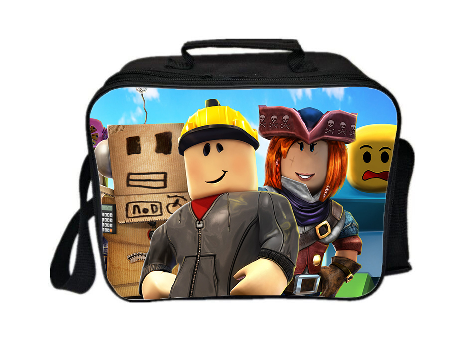 Roblox lunch box new series lunch box lunch bag team a