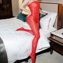 Women 8D Shiny Glossy Bodysuit Crotchless Body Stockings Tights Shaping Bodyhose - $8.99+