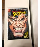 Superman The Man Of Steel #25 - $12.00