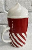 2015 Korea Starbucks Christmas Candy Cane Whip Spoon Mug 355ml New Rare ... - $37.39