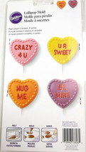 Wilton Candy Mold Candy Heart Lollipop Valentine's Day - $7.91